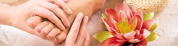 Fersenrisse oder Schrunden können schmerzhaft sein!